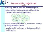 reconstructing trajectories scene 2