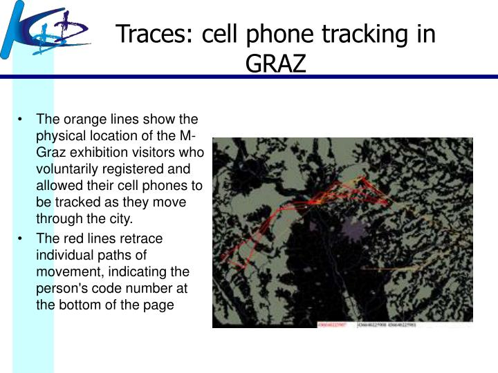 Traces: cell phone tracking in GRAZ