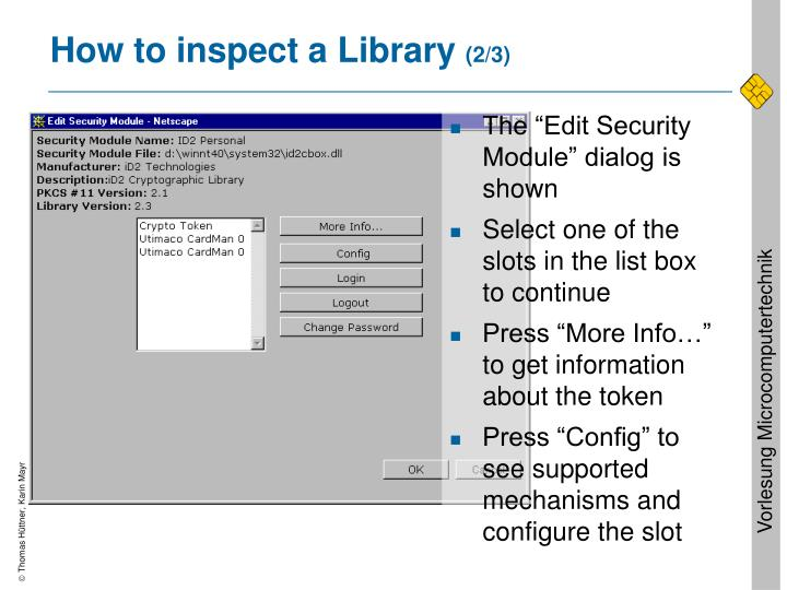How to inspect a Library