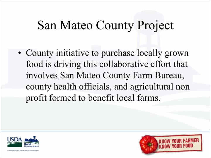 San Mateo County Project
