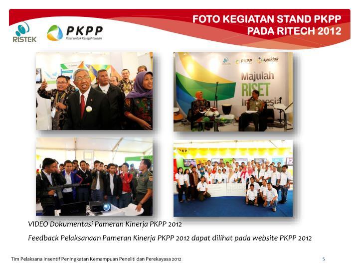 FOTO KEGIATAN STAND PKPP