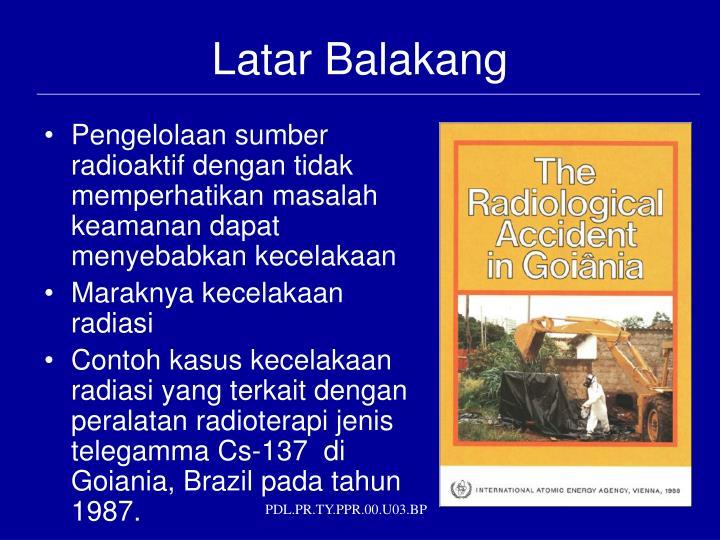 Latar Balakang