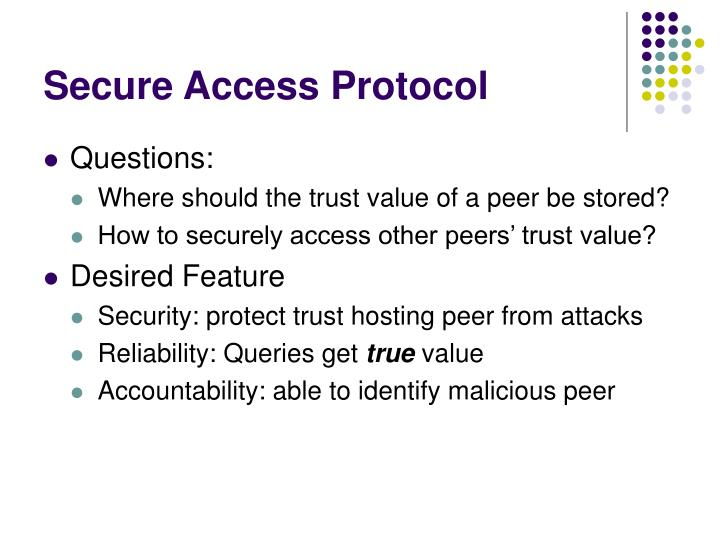 Secure Access Protocol