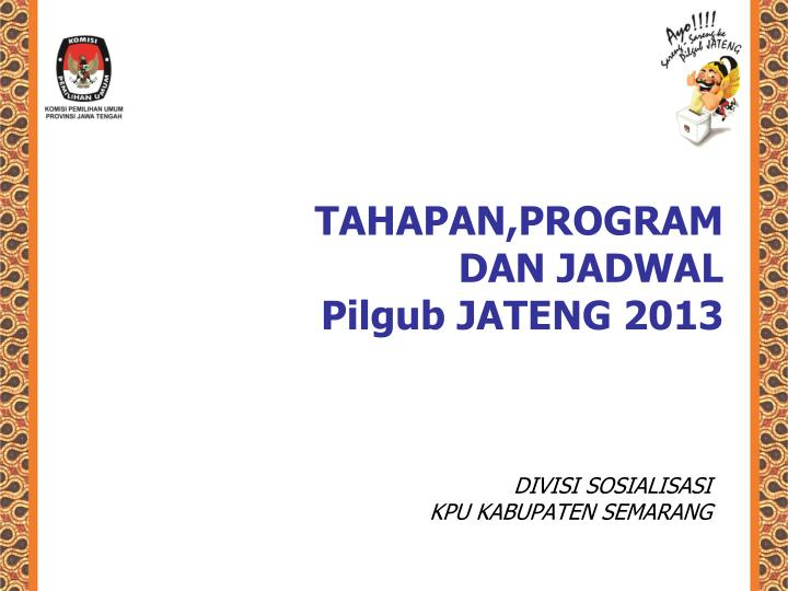 TAHAPAN,PROGRAM