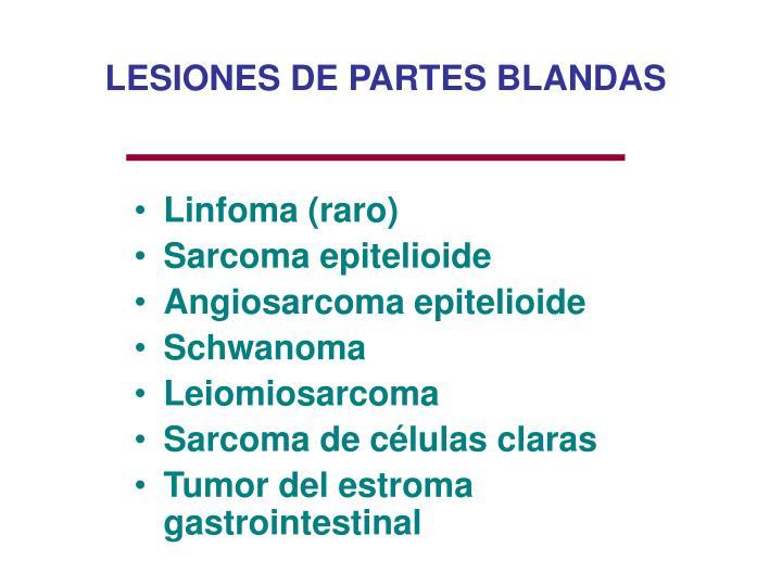 LESIONES DE PARTES BLANDAS
