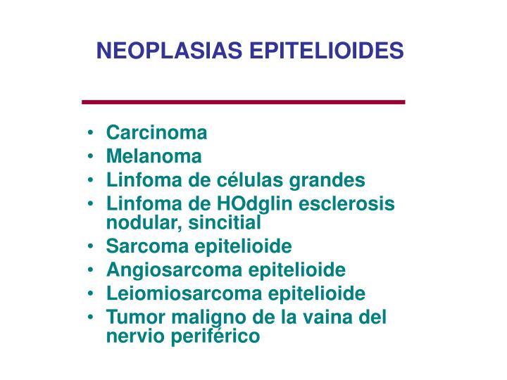 NEOPLASIAS EPITELIOIDES