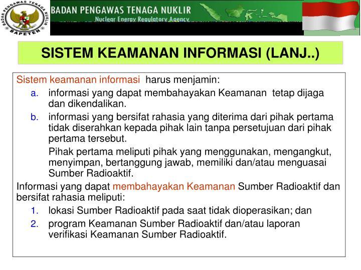 Sistem keamanan informasi