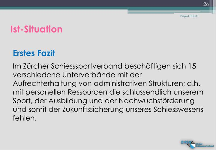 Ist-Situation