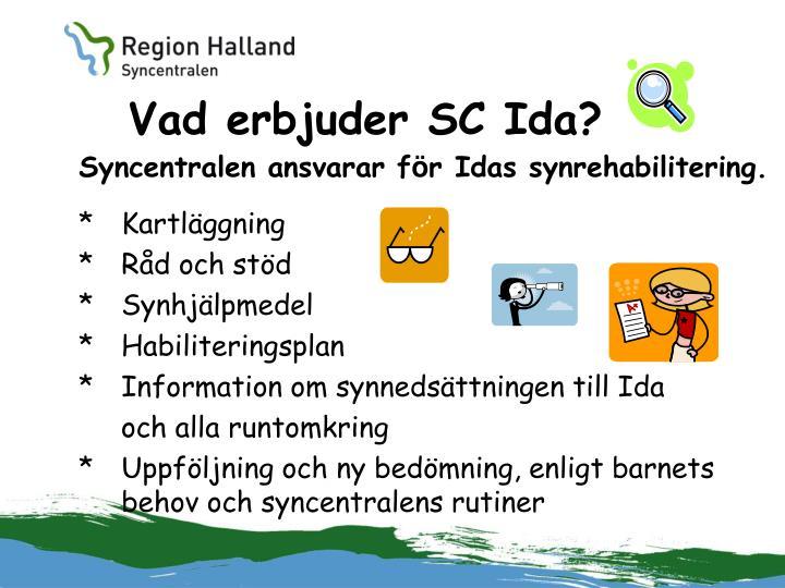 Vad erbjuder SC Ida?