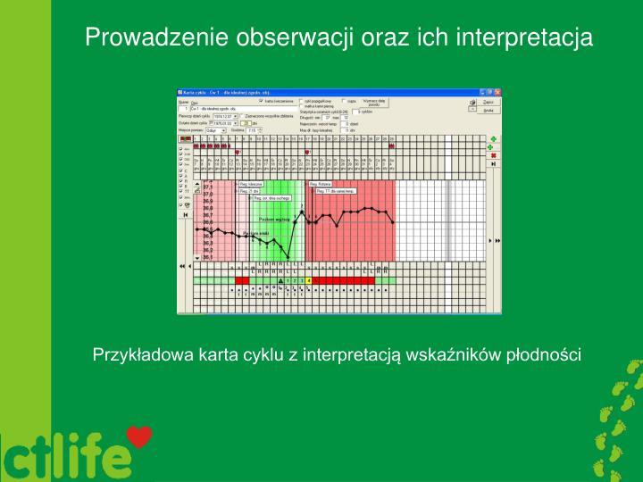 Prowadzenie obserwacji oraz ich interpretacja