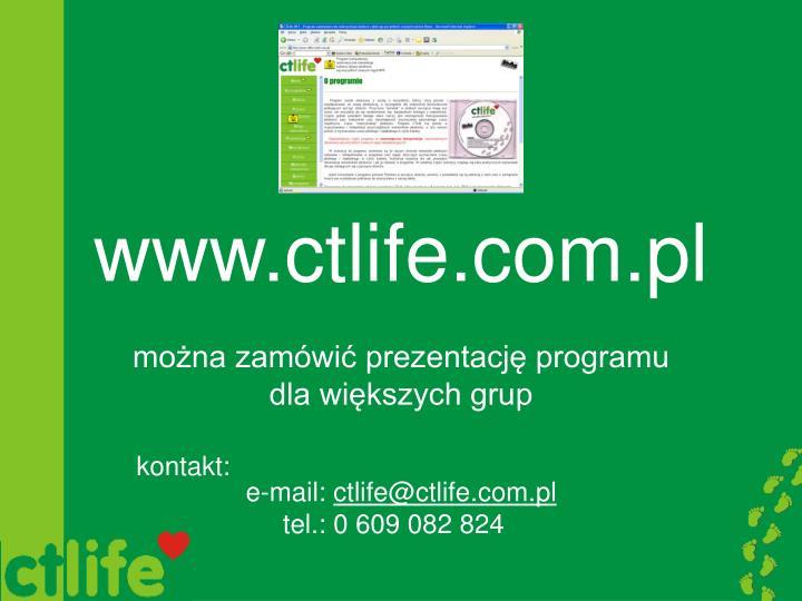 www.ctlife.com.pl