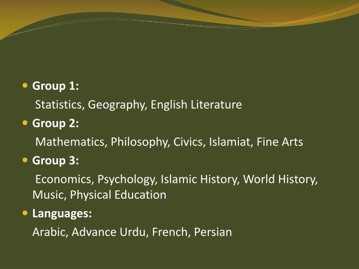 Group 1: