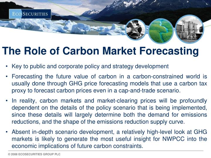 The Role of Carbon Market Forecasting