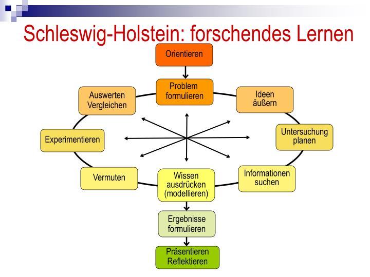 Schleswig-Holstein: forschendes Lernen