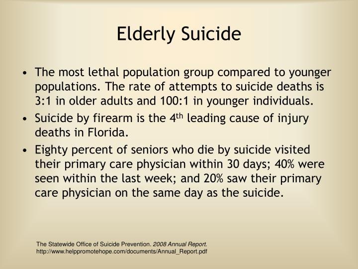 Elderly Suicide