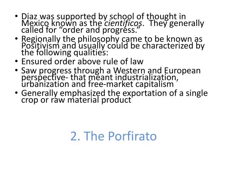 2. The Porfirato