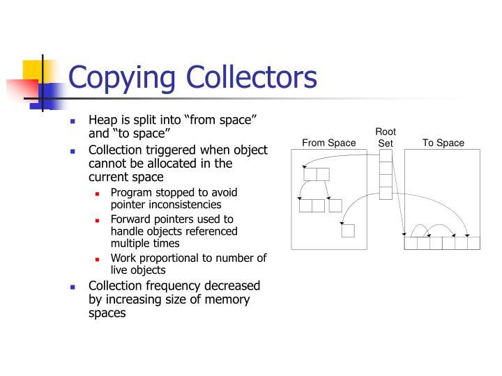 Copying Collectors