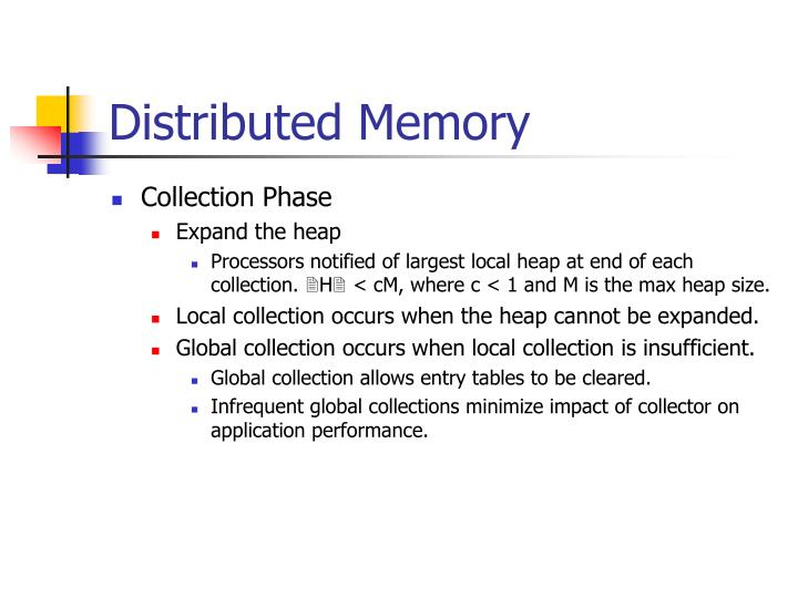 Distributed Memory