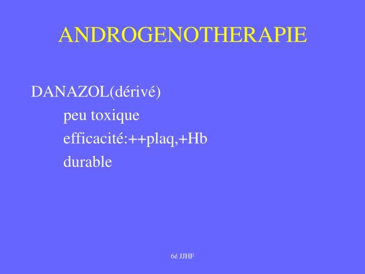 ANDROGENOTHERAPIE