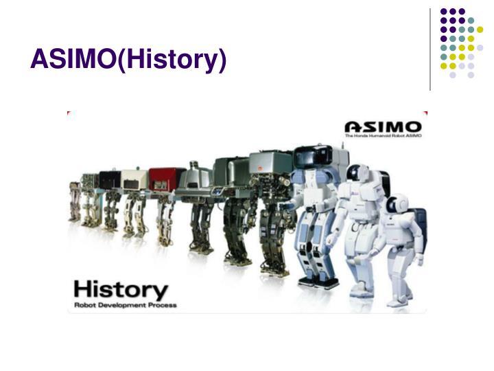 ASIMO(History)
