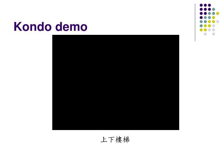 Kondo demo