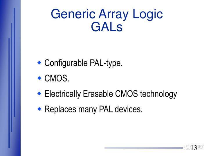 Generic Array Logic