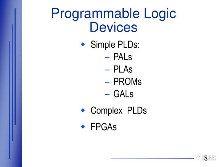 Programmable Logic Devices