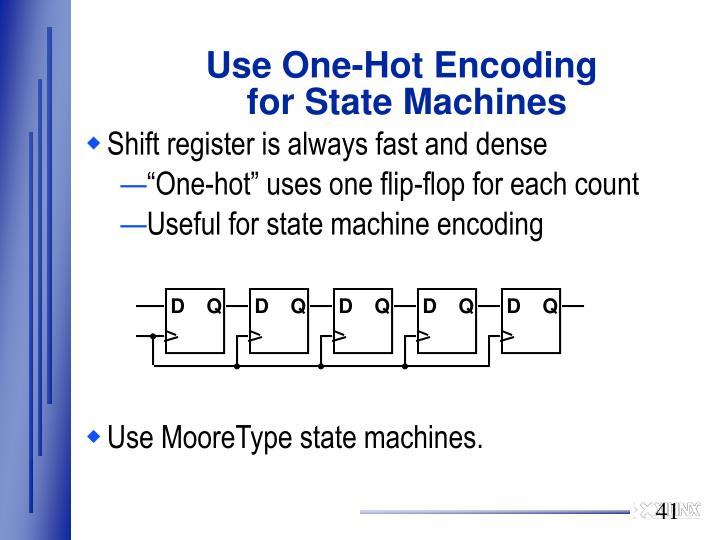 Use One-Hot Encoding