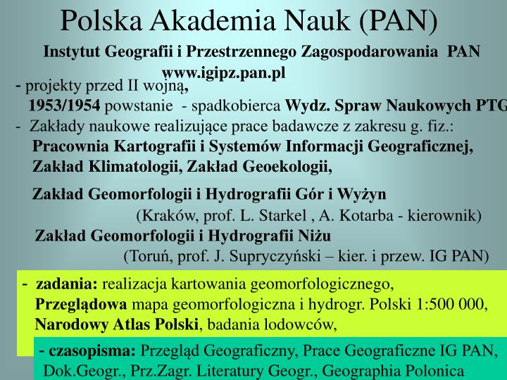 Polska Akademia Nauk (PAN)