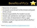 benefits of plcs2