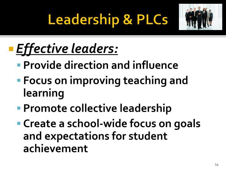 Leadership & PLCs