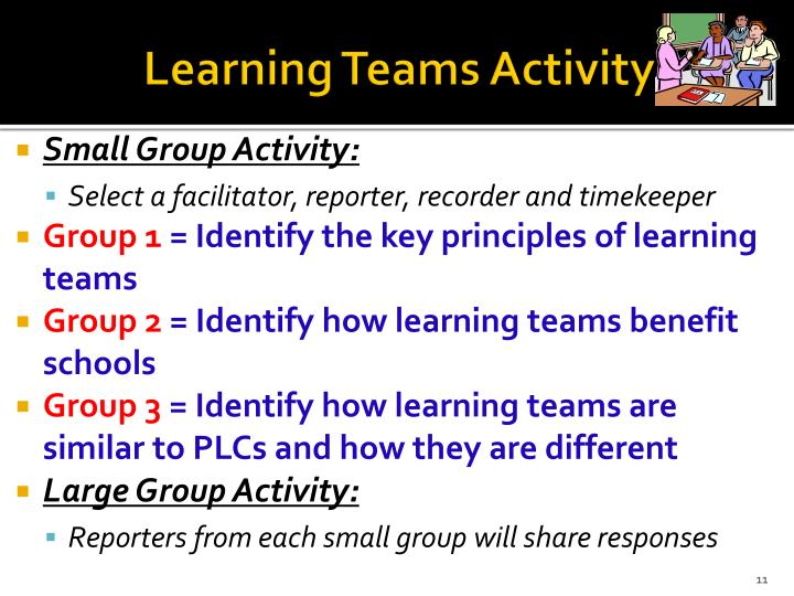 Learning Teams Activity