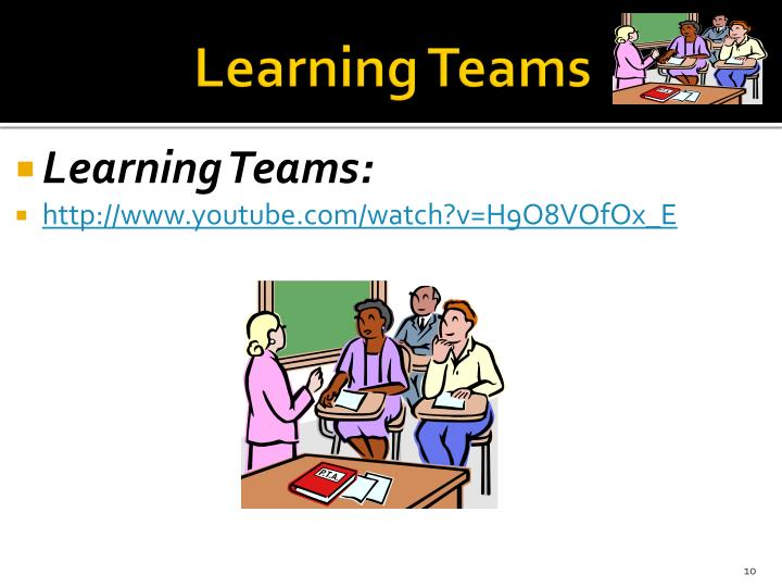 Learning Teams