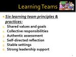 learning teams1
