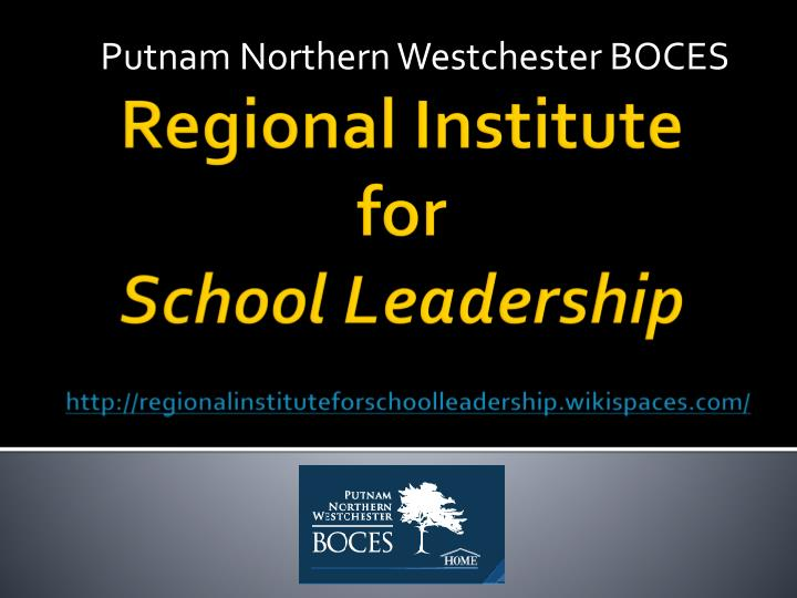 Putnam Northern Westchester BOCES