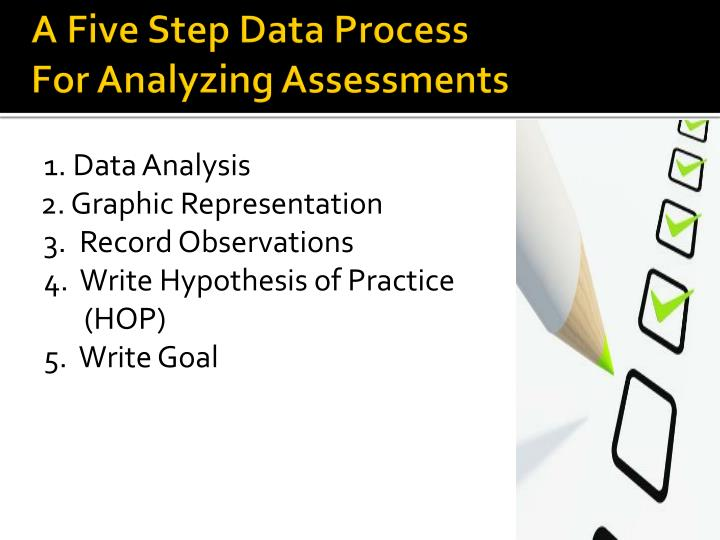 A Five Step Data Process