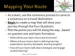 mapping your route