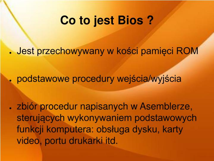 Co to jest Bios ?