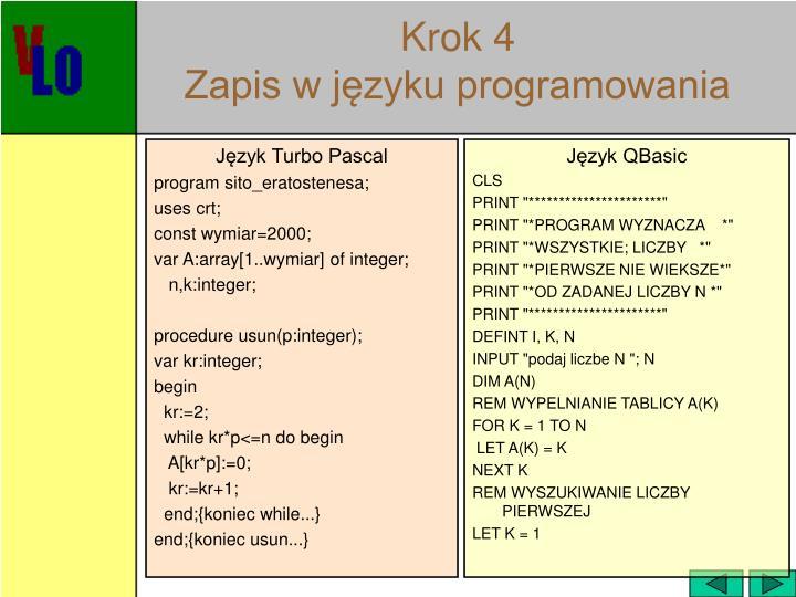 Język Turbo Pascal