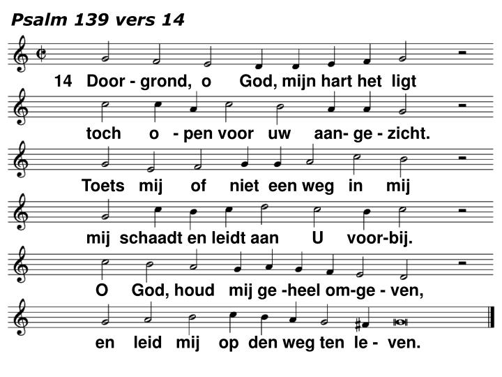 Psalm 139 vers 14