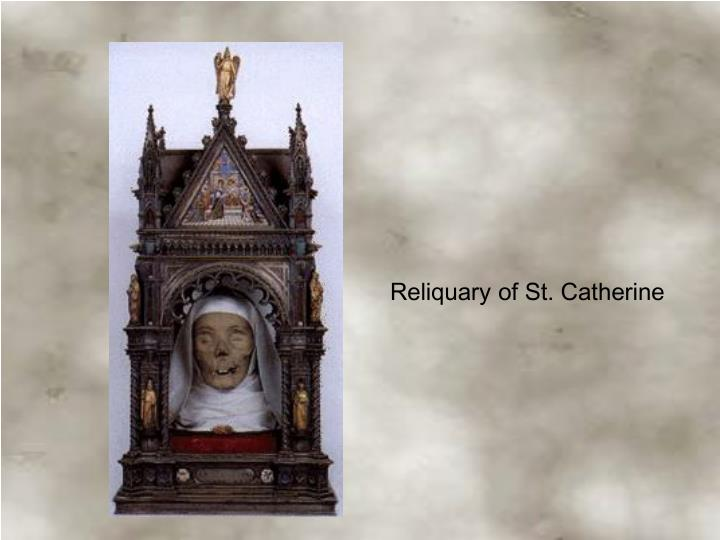 Reliquary of St. Catherine