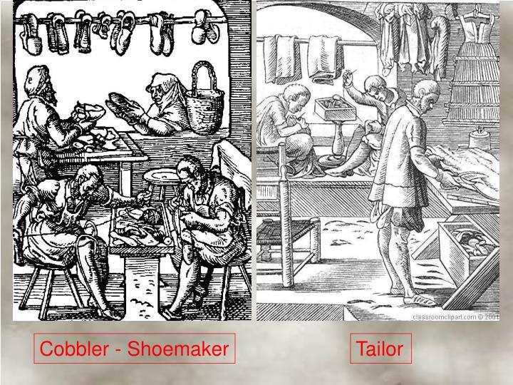Cobbler - Shoemaker