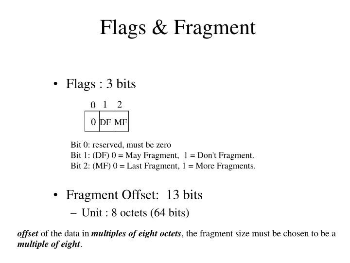 Flags & Fragment