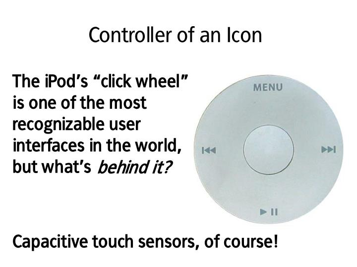Controller of an icon