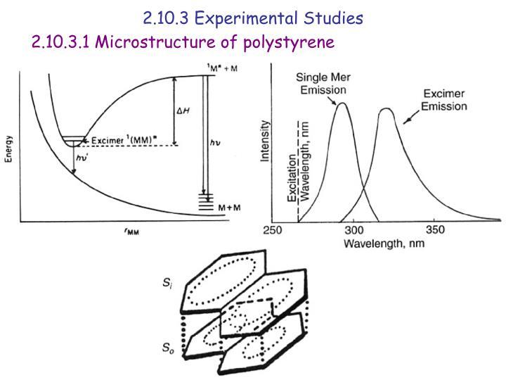 2.10.3 Experimental Studies