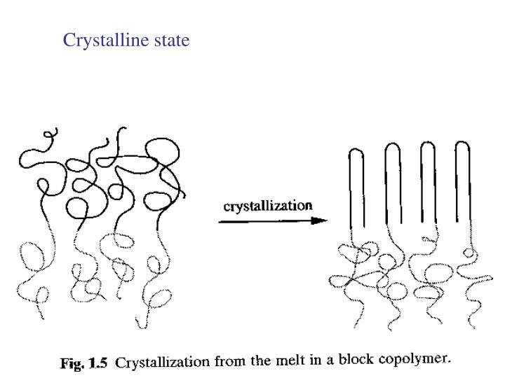 Crystalline state