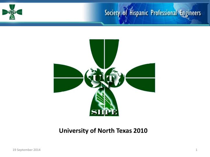 University of North Texas 2010