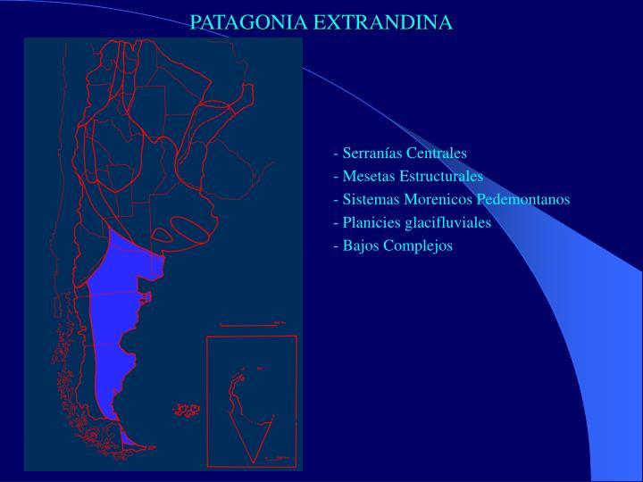 PATAGONIA EXTRANDINA