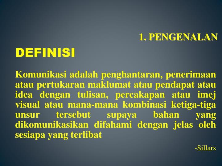 1. PENGENALAN