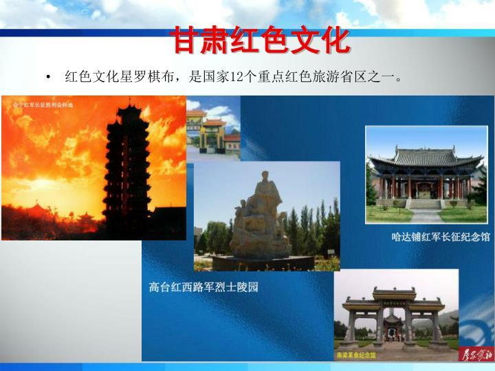 甘肃红色文化